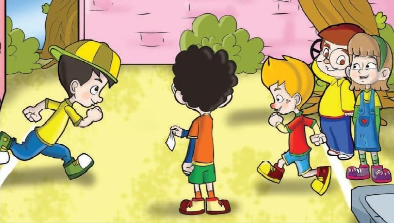 Geleneksel çocuk Oyunları Mendil Kapmaca